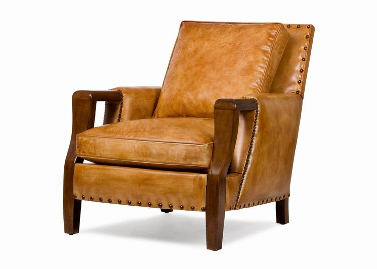 Hancock And Moore Living Room Kneemore Chair 5499 At Penn Furniture
