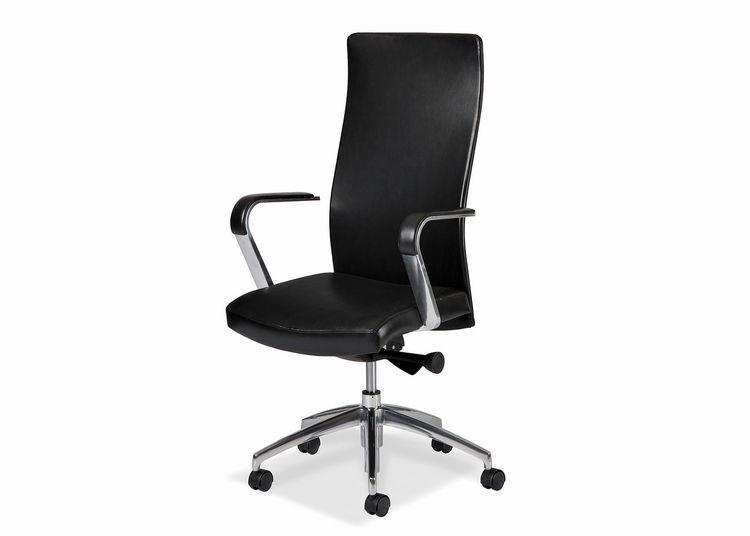 Home Office Sleek Swivel Tilt Pneumatic Lift Chair 5858ST PL