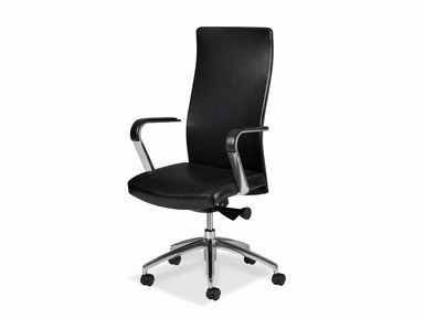 Hancock and Moore Sleek Swivel Tilt Pneumatic Lift Chair 5858ST-PL