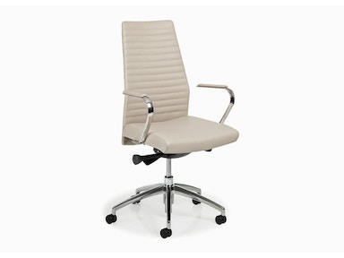 Hancock and Moore Blade Channel Back Swivel Tilt Chair 5883ST-UPH