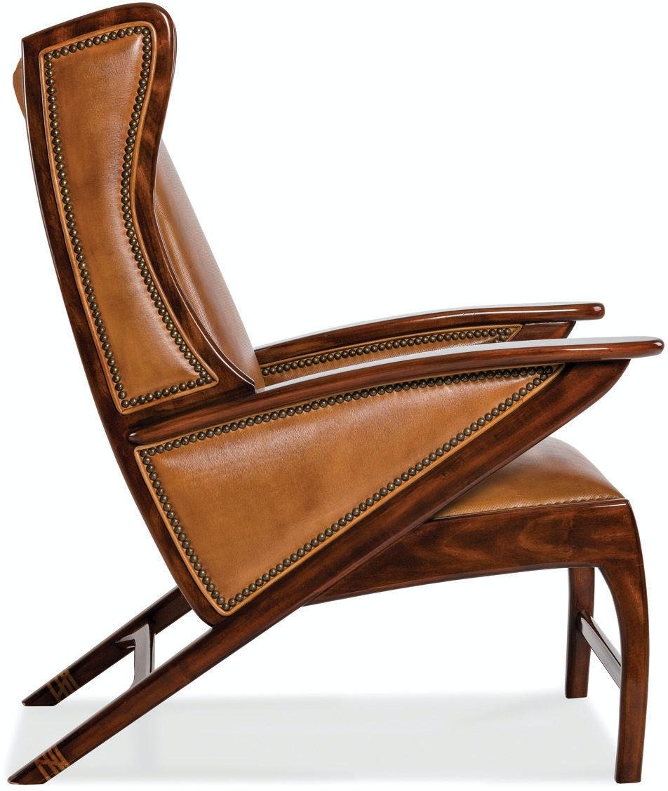 Hancock and Moore Living Room Boomerang Chair 5908