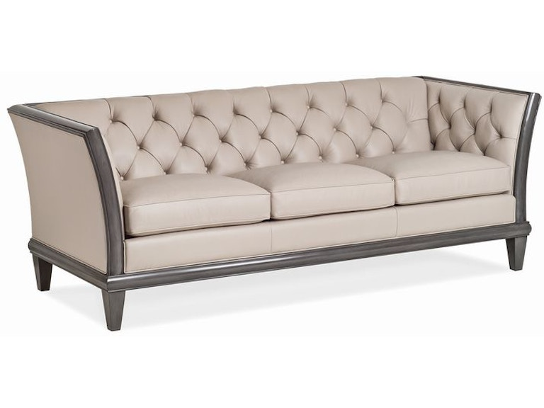 Han And Moore Natalie Tufted Sofa With Exposed Wood 6232 3 From Walter E