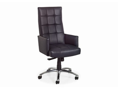 Hancock and Moore Logic Swivel Tilt Chair 6146ST-PL