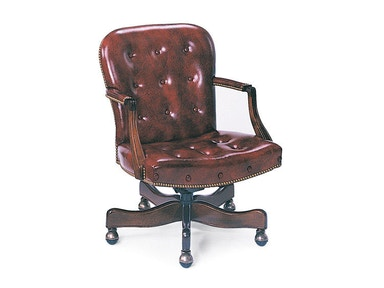 Hancock and Moore Georgetown Buttoned Swivel-tilt Chair 8315ST