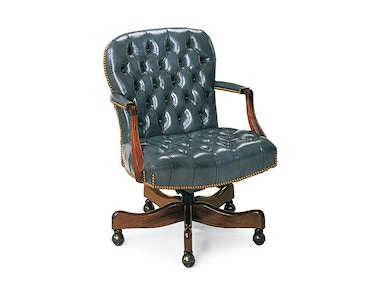 Hancock and Moore Georgetown Tufted Swivel-tilt Chair 8317ST