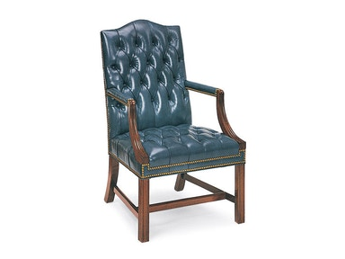 Hancock and Moore Jefferson Tufted Side Chair 8601
