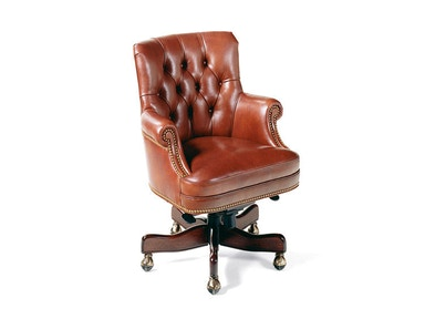 Hancock and Moore Fremont Tufted Swivel-tilt Pneumatic Lift Chair 8911ST-PL