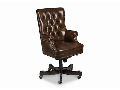 Hancock and Moore Fremont Tufted Swivel Tilt Pneumatic Lift Chair 8912ST-PL