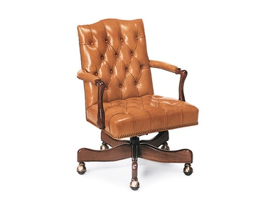 Hancock and Moore Graham Tufted Swivel-tilt Chair 9118ST
