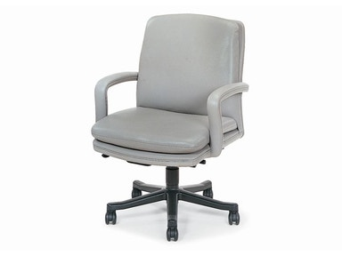 Hancock and Moore Marquis Low-back Open Arm Swivel-tilt Pneumatic Lift Chair 9176ST-PL