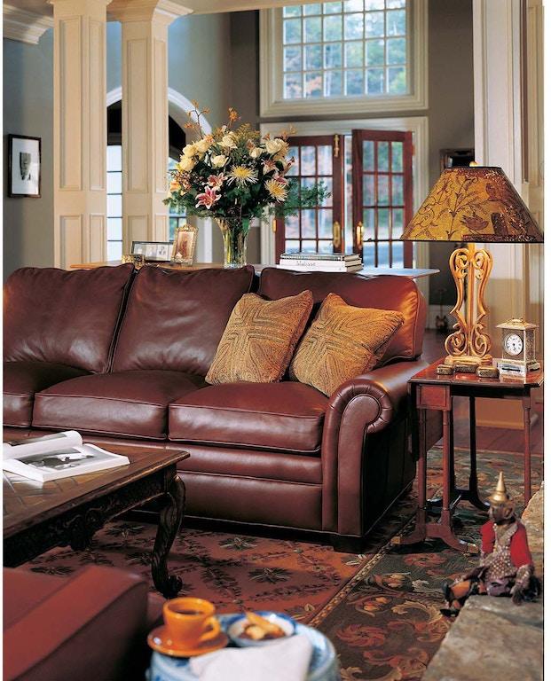 Hancock And Moore Living Room City Sofa 9844 Hickory