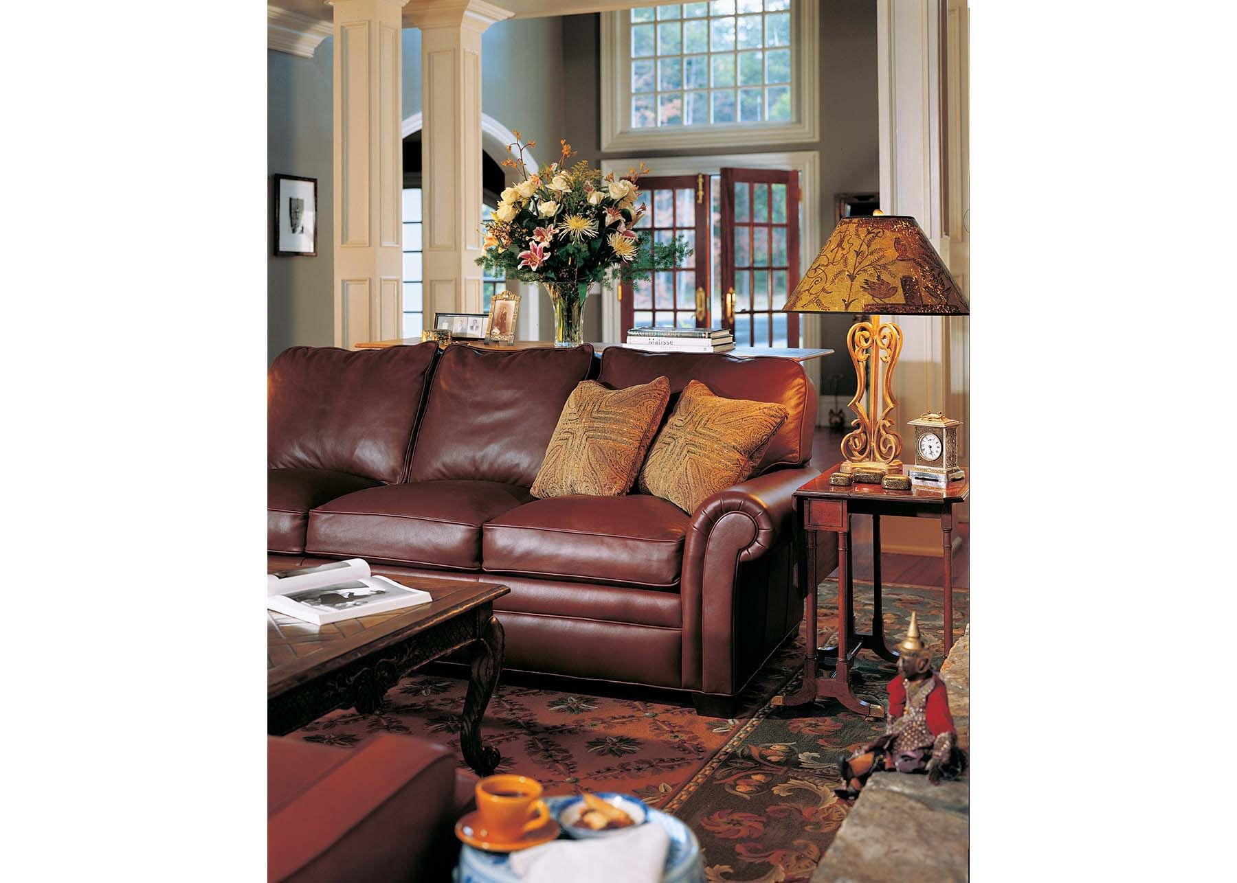 Superbe Hancock And Moore City Sofa 9844