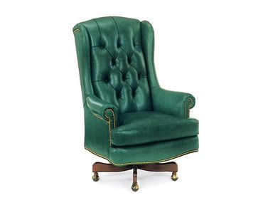 Hancock and Moore Wrenn Tufted Swivel-tilt Chair 9856ST