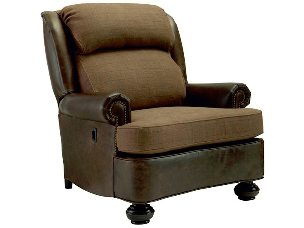 Leathercraft Furniture Living Room Bradley High Back Ease