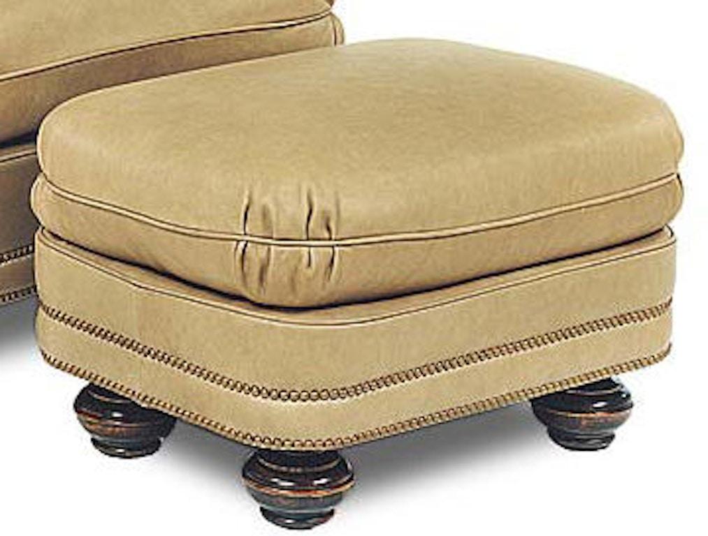 Excellent Leathercraft Furniture Living Room Blayne Ottoman 1043 Cjindustries Chair Design For Home Cjindustriesco