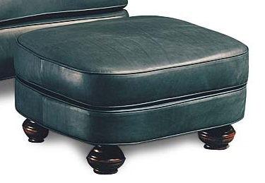 Leathercraft Furniture Bradley Ottoman 1133