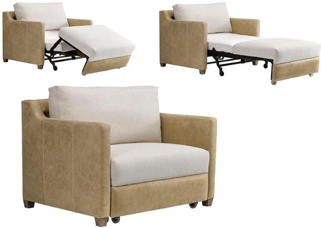 Leathercraft Furniture Living Room Brooklyn Twin Sleeper ...
