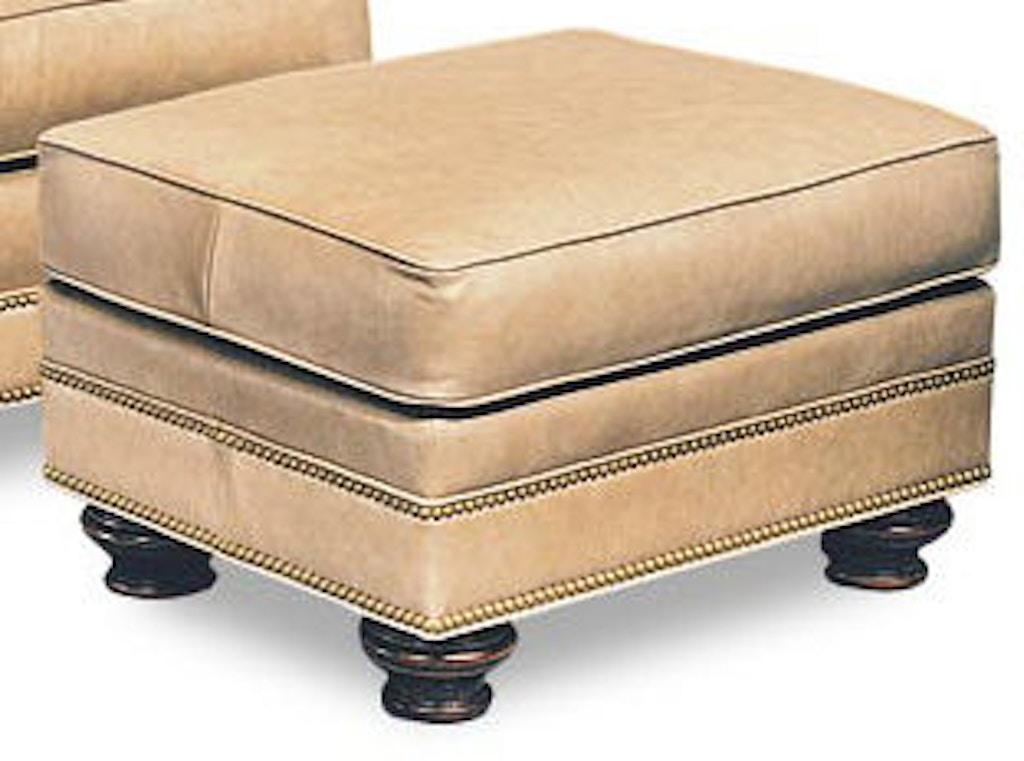Fantastic Leathercraft Furniture Living Room Garland Ottoman 2563 Cjindustries Chair Design For Home Cjindustriesco