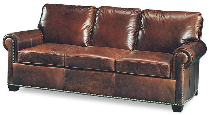 Leathercraft Furniture Living Room Robinson Sofa 2670 Studio 882