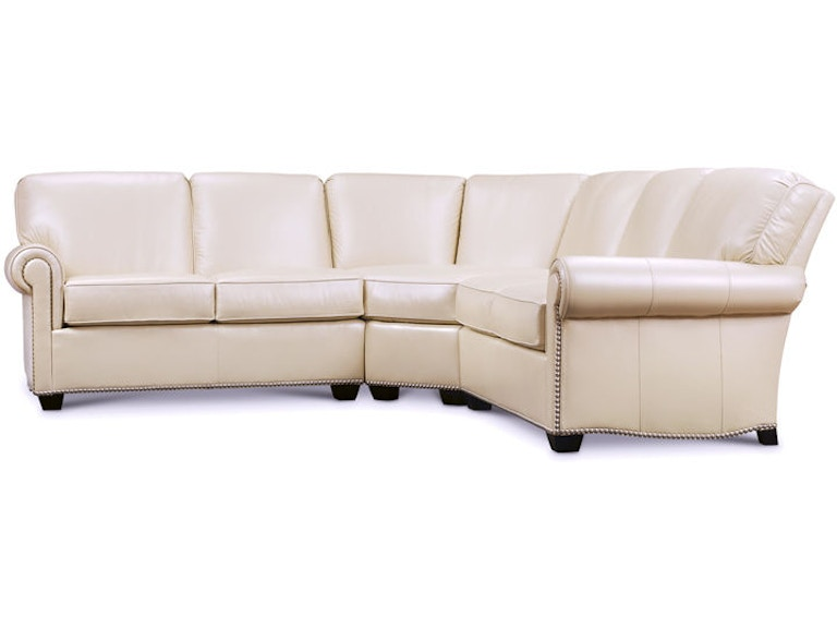 Leathercraft Furniture Living Room 2670-Sectional - Phillips ...
