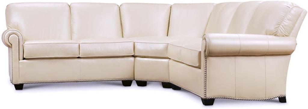 Pleasant Leathercraft Furniture Living Room Robinson Sectional 2670 Evergreenethics Interior Chair Design Evergreenethicsorg