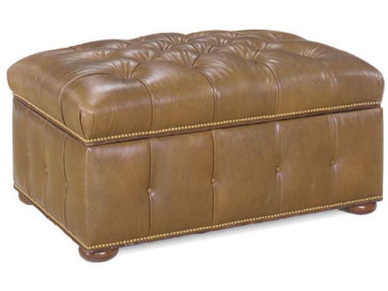 Pleasant Leathercraft Furniture Living Room Augustus Storage Ottoman Cjindustries Chair Design For Home Cjindustriesco