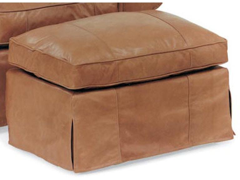 Wondrous Leathercraft Furniture Living Room Louisa Ottoman 3573 Cjindustries Chair Design For Home Cjindustriesco