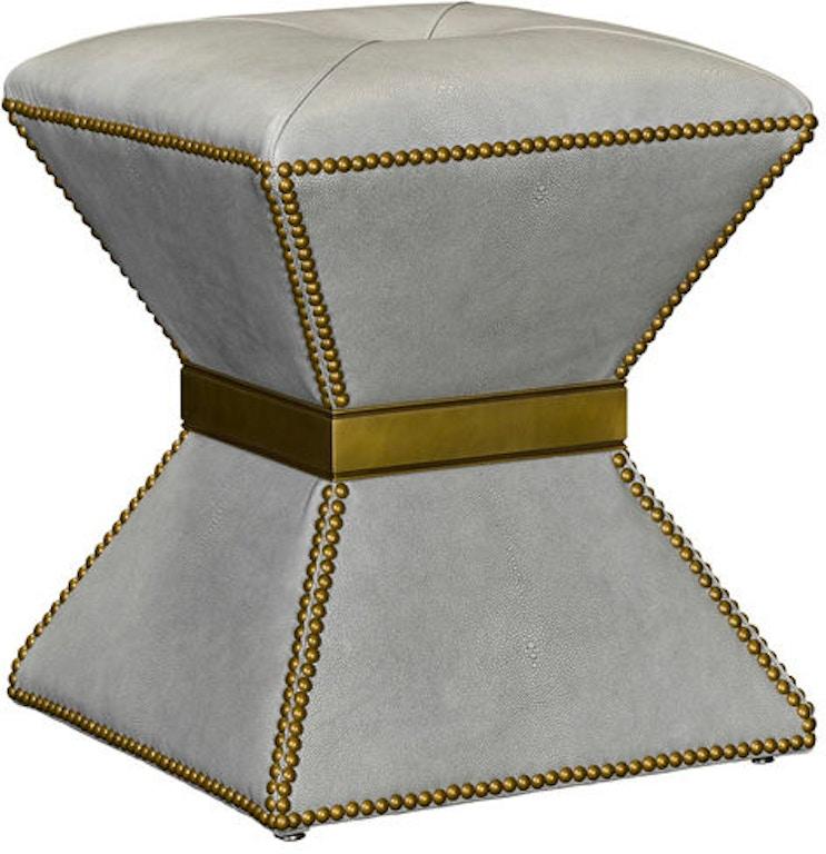Enjoyable Leathercraft Furniture Living Room Delilah Ottoman 394N Cjindustries Chair Design For Home Cjindustriesco