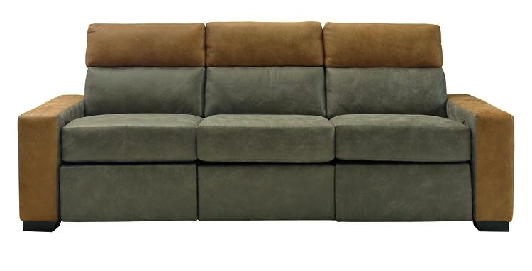 Leathercraft Furniture Living Room Eastwood Reclining Sofa