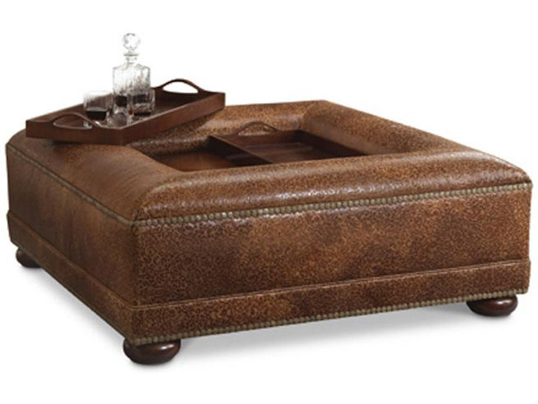 Awesome Leathercraft Furniture Living Room Phineas Ottoman 423 Cjindustries Chair Design For Home Cjindustriesco
