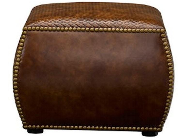 Wondrous Leathercraft Furniture Living Room Feng Ottoman 533 R W Cjindustries Chair Design For Home Cjindustriesco
