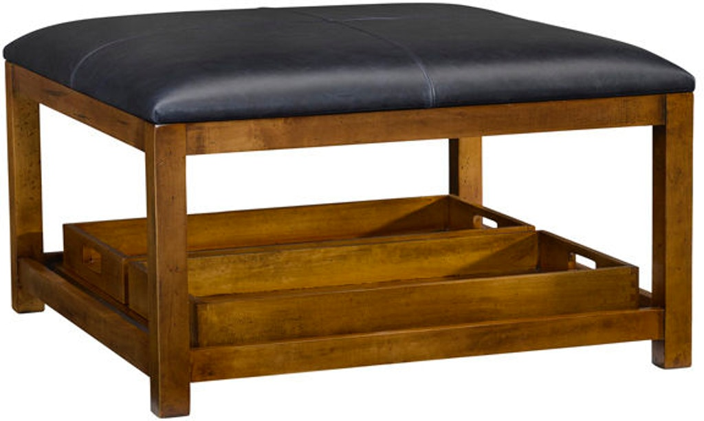 Outstanding Leathercraft Furniture Living Room Mid Atlantic Ottoman 574 Cjindustries Chair Design For Home Cjindustriesco