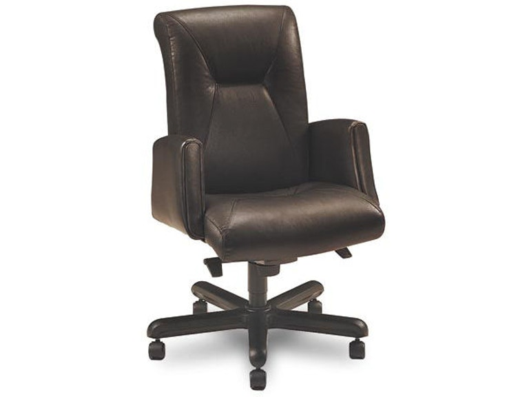 Wondrous Leathercraft Furniture Home Office Delaware Posture Back Creativecarmelina Interior Chair Design Creativecarmelinacom