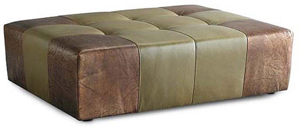 Wondrous Leathercraft Furniture Living Room Studio Ottoman 916 04 Sq2 Cjindustries Chair Design For Home Cjindustriesco