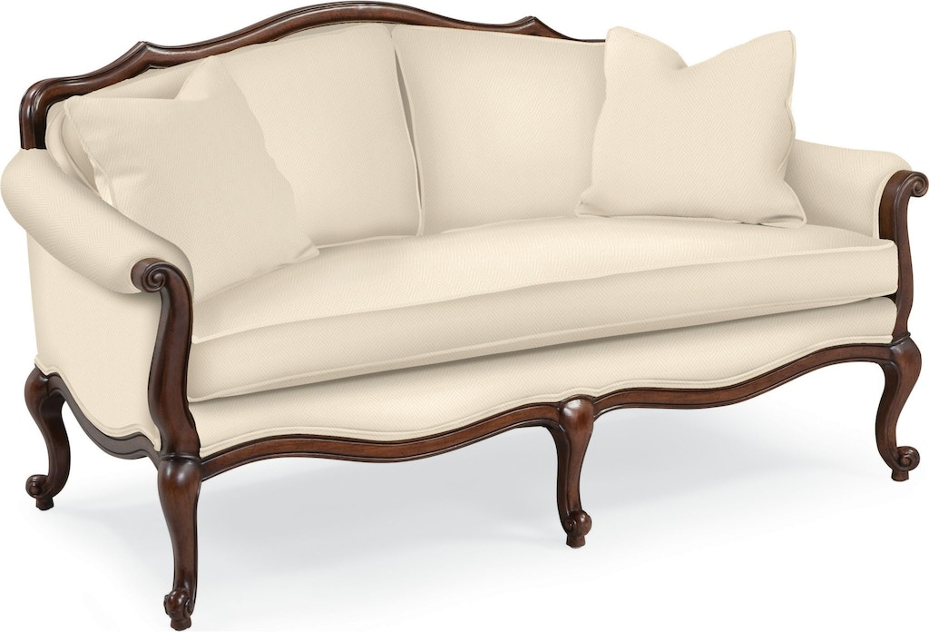 Thomasville Living Room Devereux Settee With Double Welt