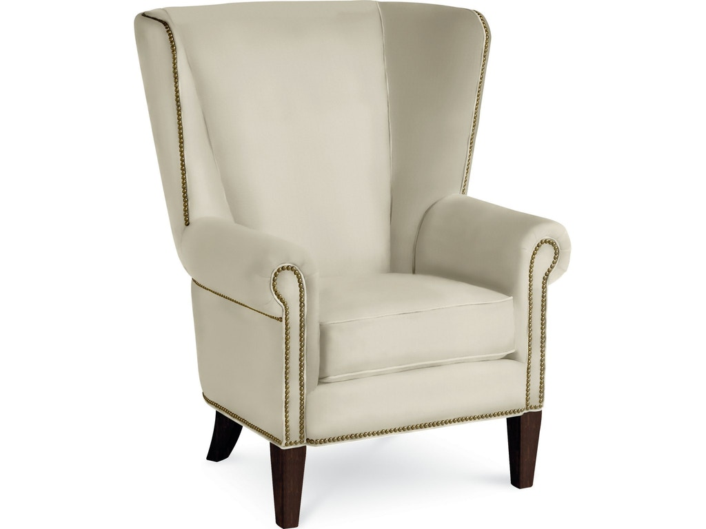 Thomasville Living Room Maynard Wing Chair 1642 15 Hickory Furniture Mart Hickory Nc