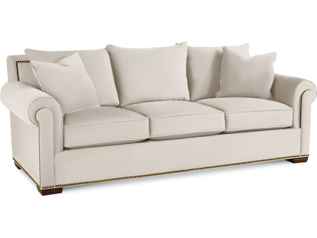 Thomasville Living Room Fremont Sofa 1658 11 Whitley Furniture Galleries Raleigh Nc