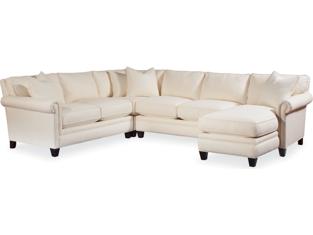 Thomasville living room mercer sectional 1801 sect for Q furniture beaumont texas