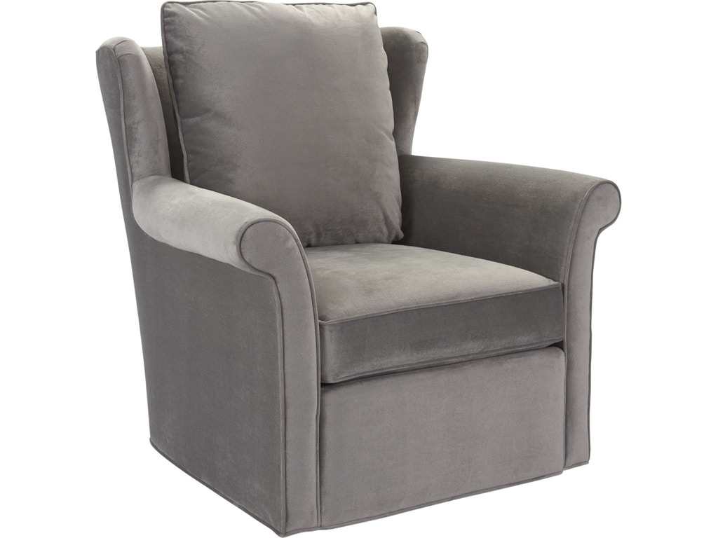 Thomasville Living Room Delia Swivel Chair 2515 15sw Hickory Furniture Mart Hickory Nc