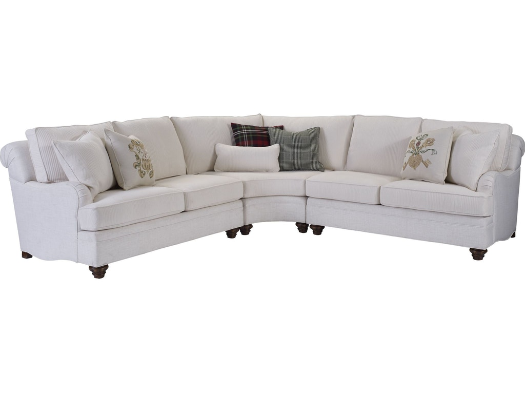 Thomasville Living Room Tarren Sectional 2530 Sect Whitley Furniture Galleries Raleigh Nc