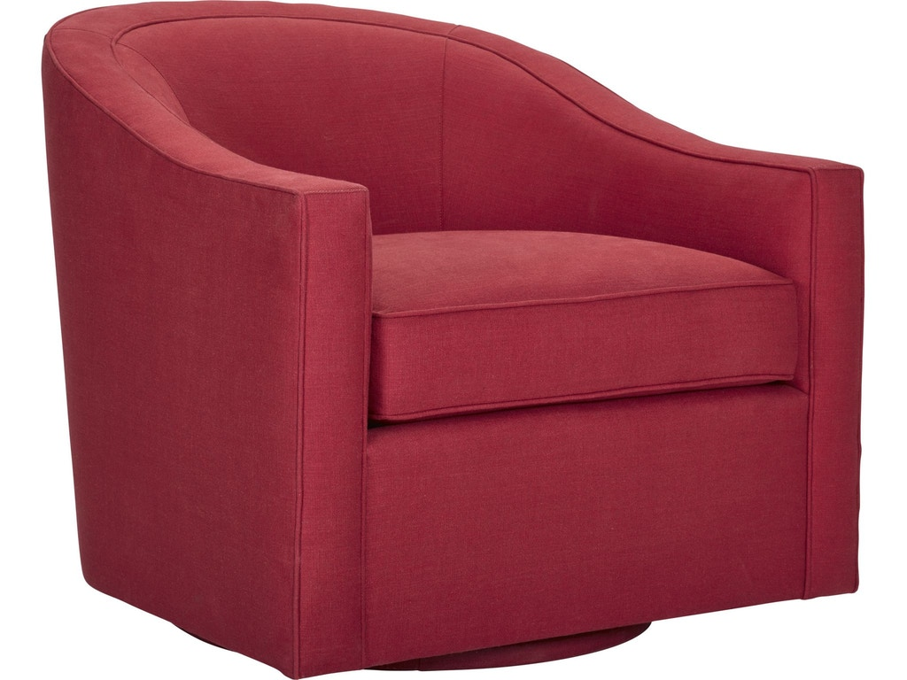 Thomasville living room rocco swivel chair 2609 15sw for Anthony baratta luna upholstered bed