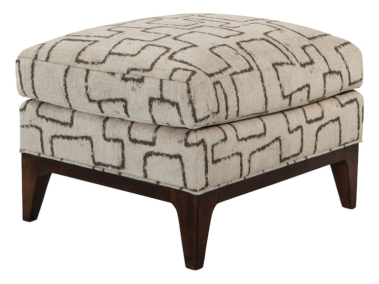 Thomasville living room romero ottoman 2657 16 howell for Furniture in beaumont tx