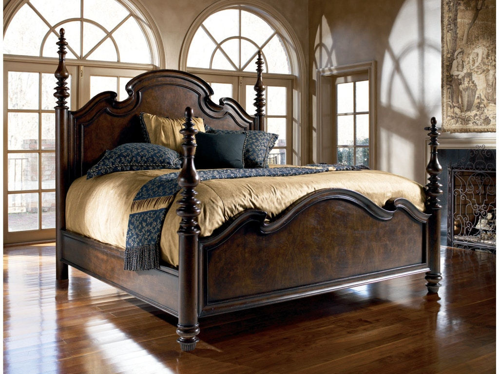 Thomasville Bedroom Lucca Poster Bed King 43612 476 West Coast Living Orange County And