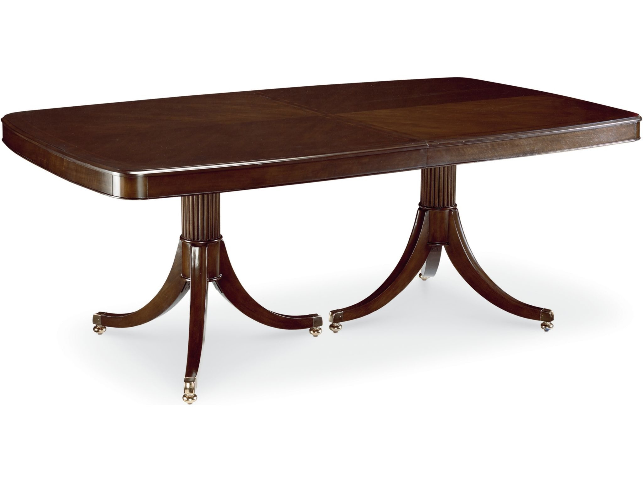 Thomasville Dining Room Double Pedestal Dining Table 45521 772 At Lauters  Fine Furniture