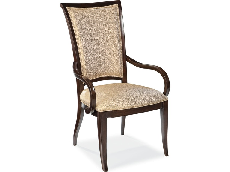 Thomasville Dining Room Upholstered Arm Chair 45521 872 At Capperella Furniture