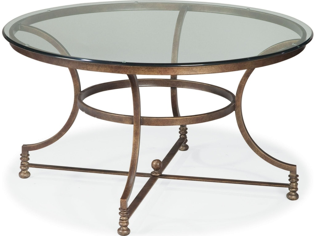 Thomasville living room round cocktail table 46091 171 for Living room round table