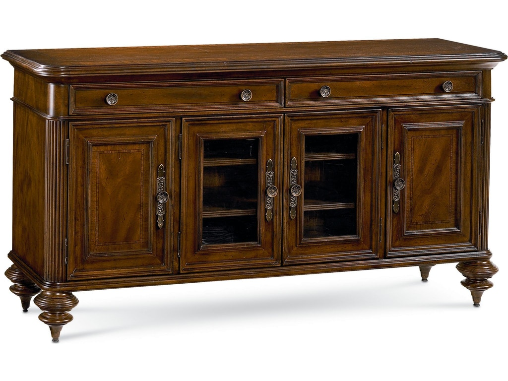 Thomasville Home Entertainment Nairobi Media Console 46241 930 Hickory Furniture Mart