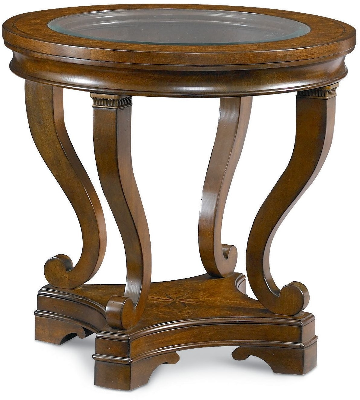 Thomasville Living Room Round Lamp Table 46731 231