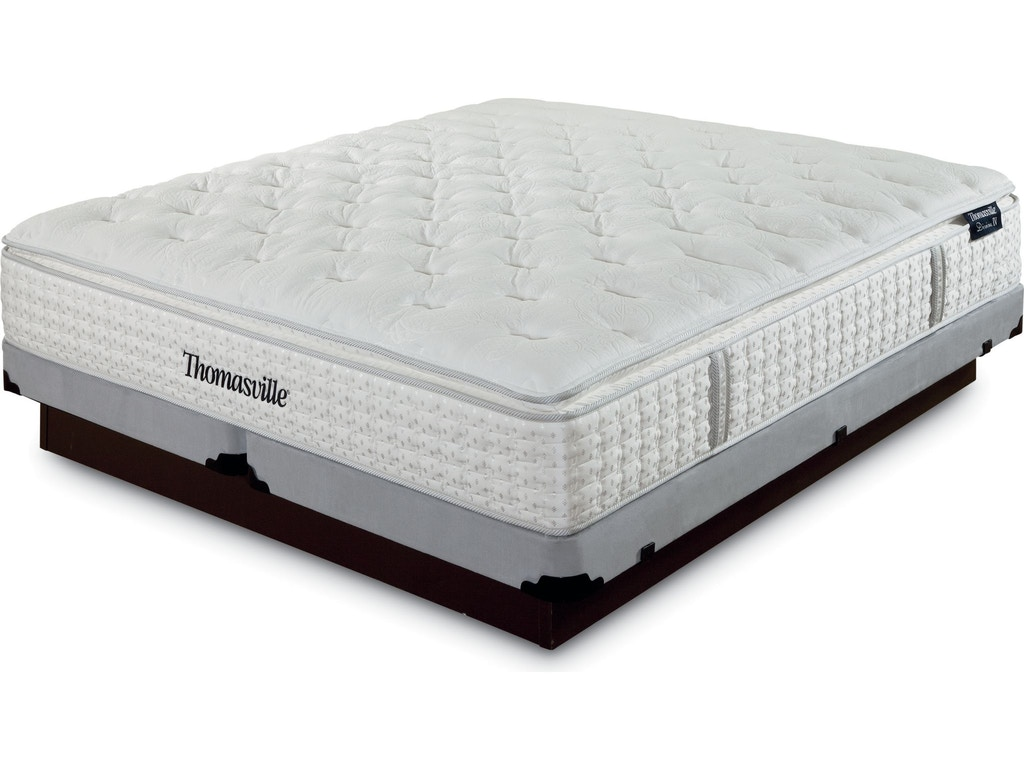Thomasville mattresses king mattress set divine 4 59704 for Q furniture and mattress beaumont tx