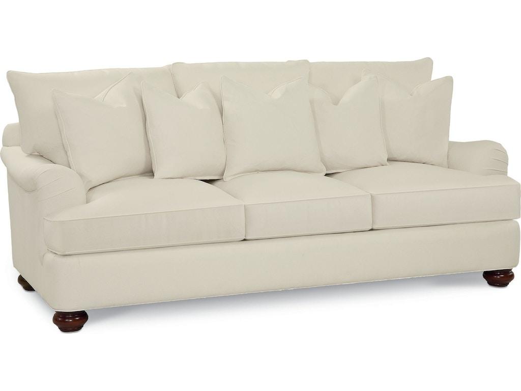 thomasville living room portofino large sofa 8108 11. Black Bedroom Furniture Sets. Home Design Ideas